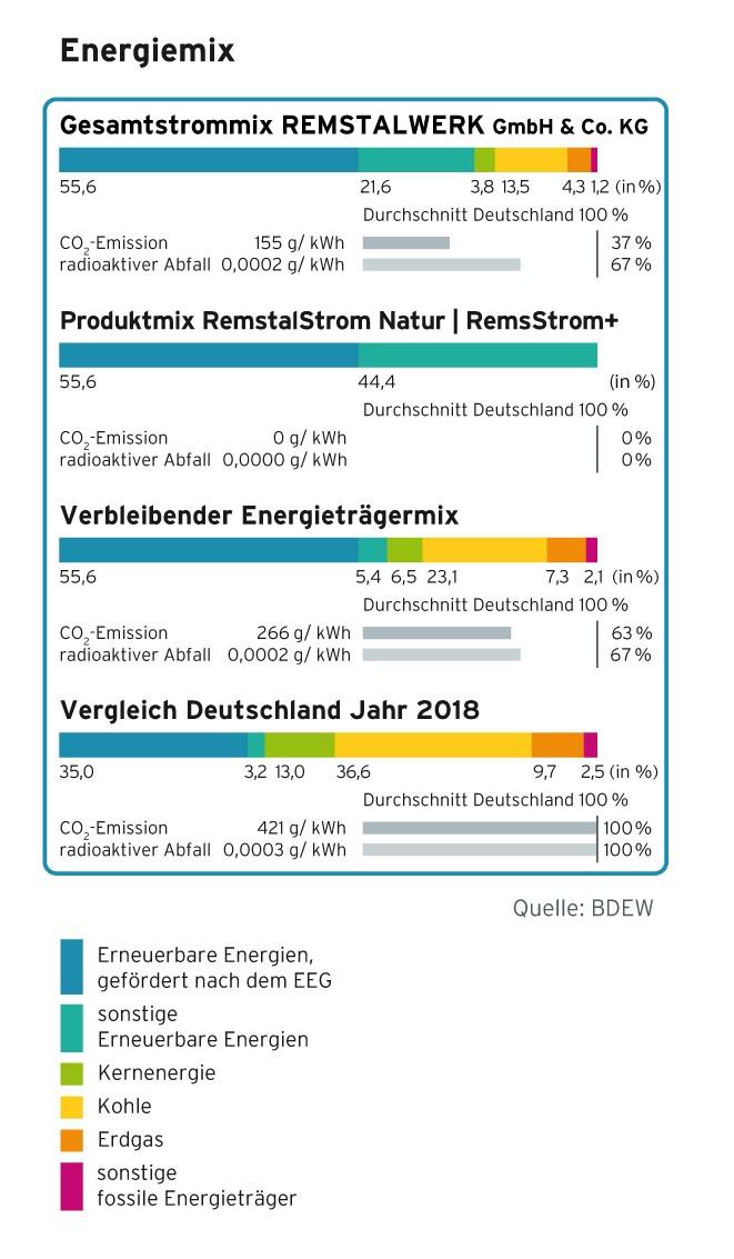 Remstalwerk Stromkennzeichnung 2020